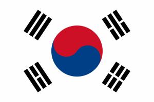 3 drapeau-coree-du-sud feu terre ciel eau
