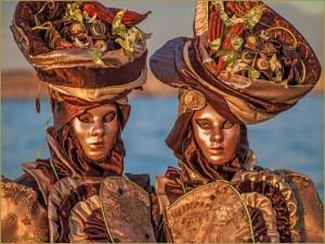 Le Carnaval de Venise et son défilé de masques mystérieux !