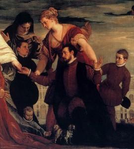 Tableau de Veronese Paolo, peintre vénitien (1528-1588)